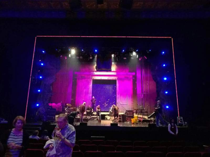 Seating view for Hollywood Pantages Theatre Section orchestra c Row j Seat 106