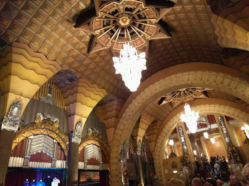 Seating view for Hollywood Pantages Theatre