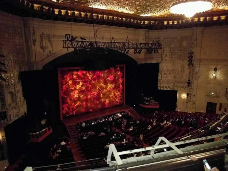 Seating view for Orpheum Theatre (San Francisco) Section Loge L Row C Seat 9