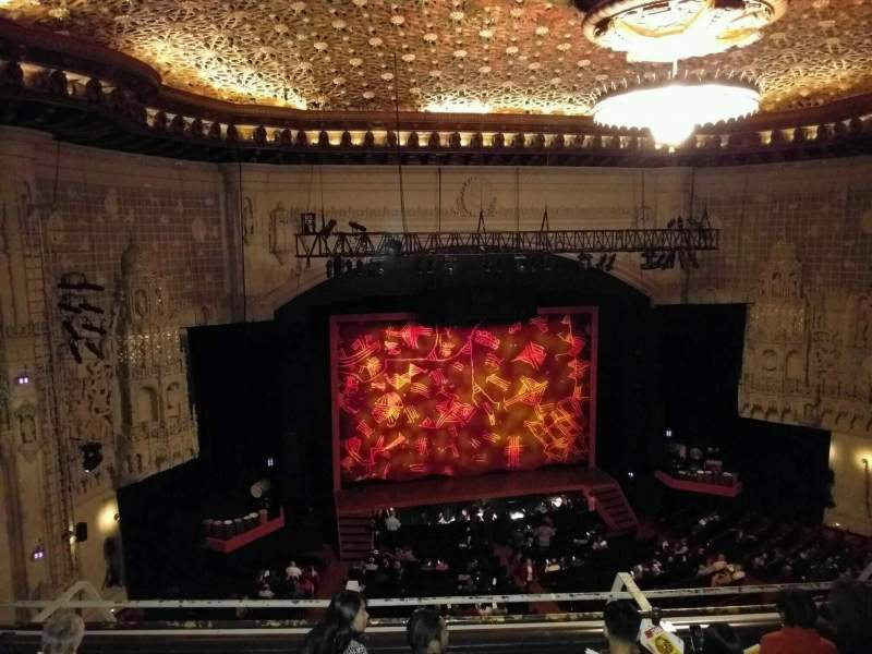 Seating view for Orpheum Theatre (San Francisco) Section Balcony LC Row e Seat 113