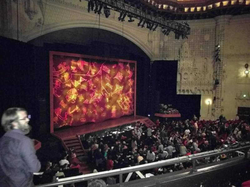 Seating view for Orpheum Theatre (San Francisco) Section Mezzanine L Row d Seat 21
