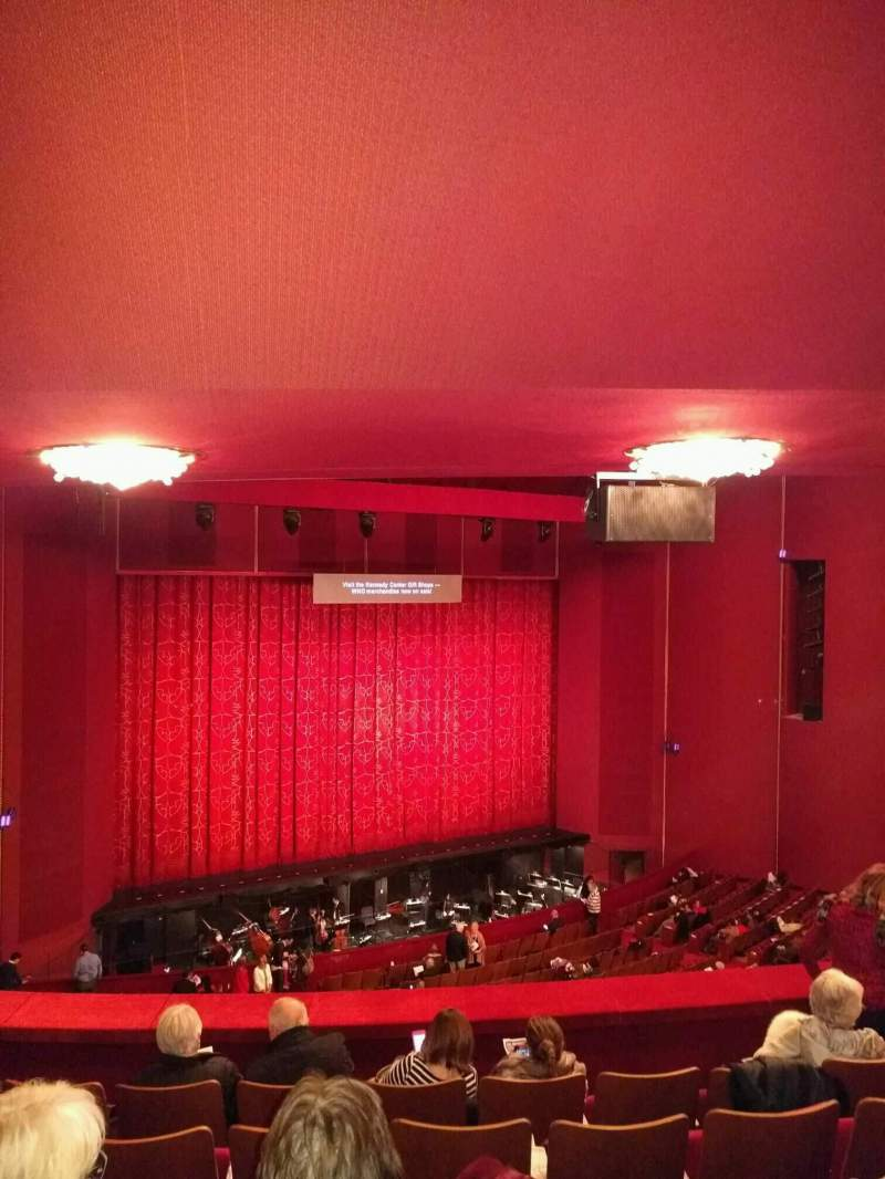 Seating view for The Kennedy Center Opera House Section 1st tier Row f Seat 127