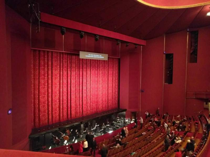 Seating view for The Kennedy Center Opera House Section 1st tier Row a Seat 9
