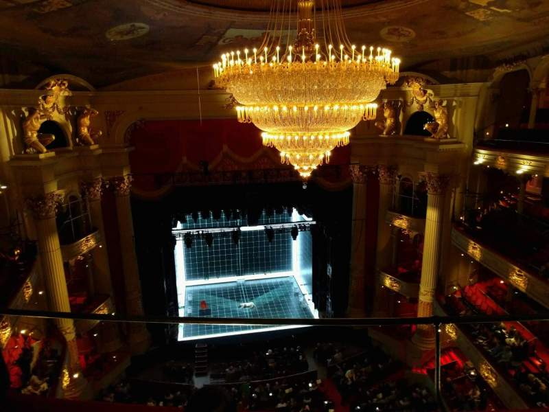 Seating view for Academy of Music Section Amphitheater E Row c Seat 114