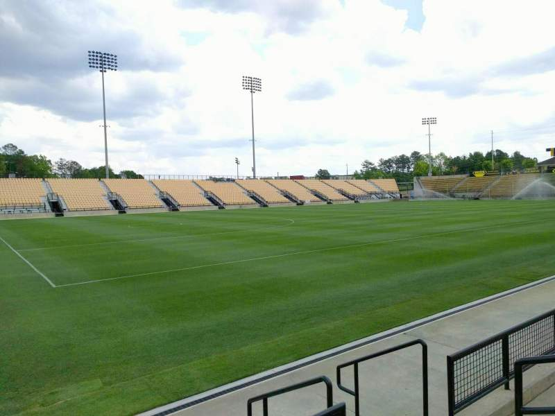 Seating view for Fifth Third Bank Stadium Section 101 Row c Seat 4