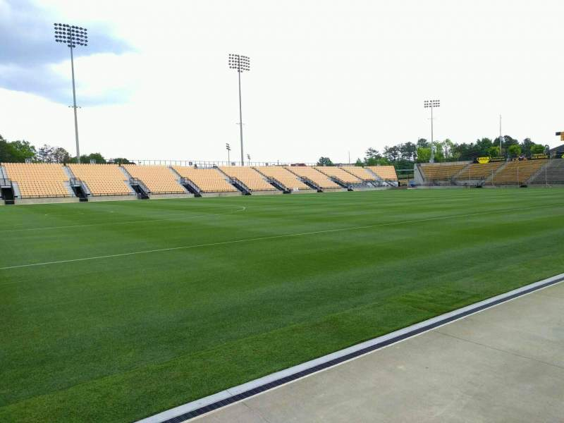 Seating view for Fifth Third Bank Stadium Section 102 Row a Seat 10