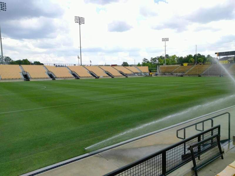 Seating view for Fifth Third Bank Stadium Section 103 Row c Seat 10