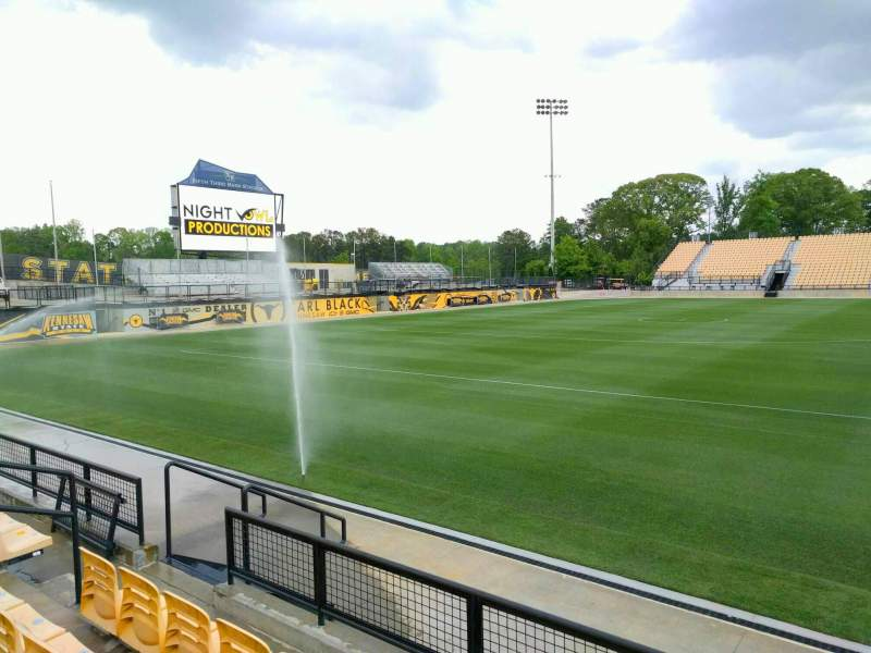 Seating view for Fifth Third Bank Stadium Section 104 Row d Seat 10