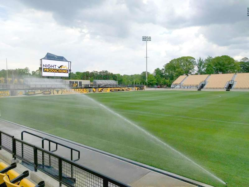 Seating view for Fifth Third Bank Stadium Section 105 Row c Seat 9