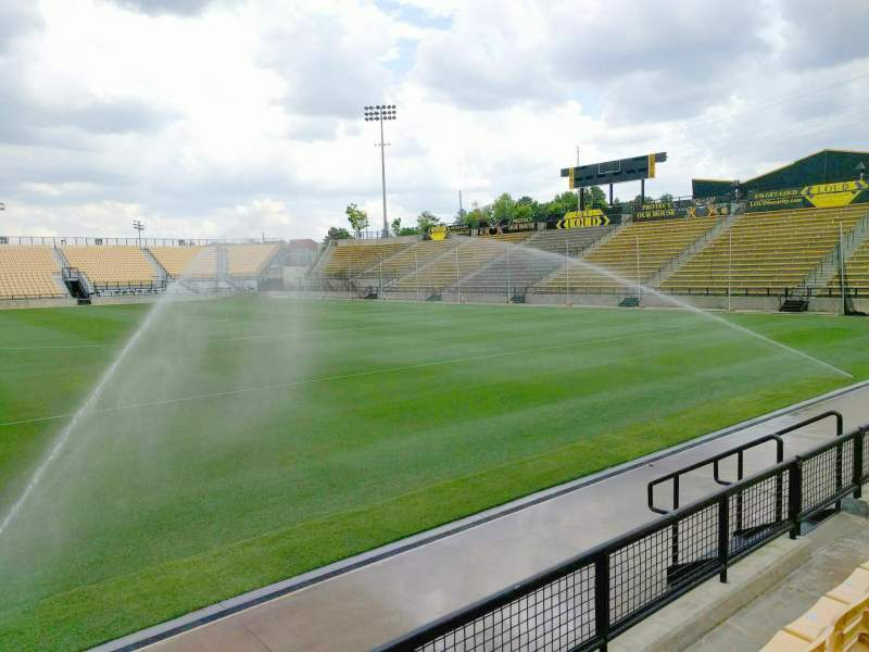 Seating view for Fifth Third Bank Stadium Section 108 Row c Seat 10
