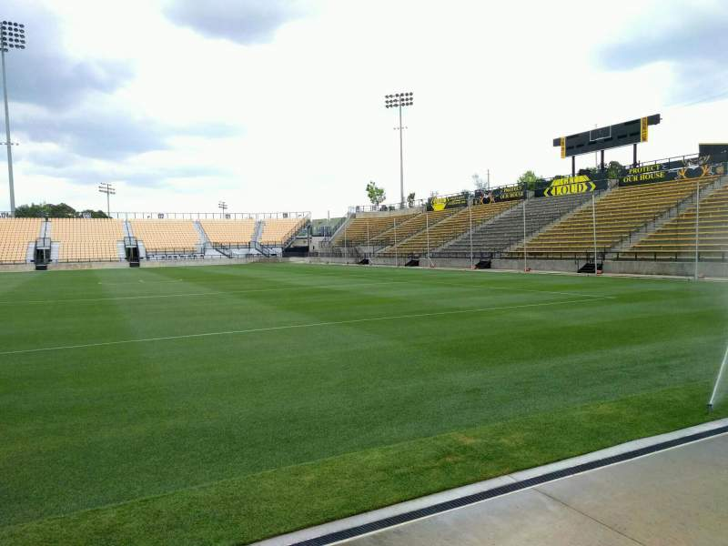 Seating view for Fifth Third Bank Stadium Section 109 Row a Seat 10