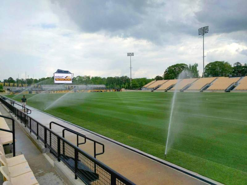 Seating view for Fifth Third Bank Stadium Section 110 Row b Seat 10