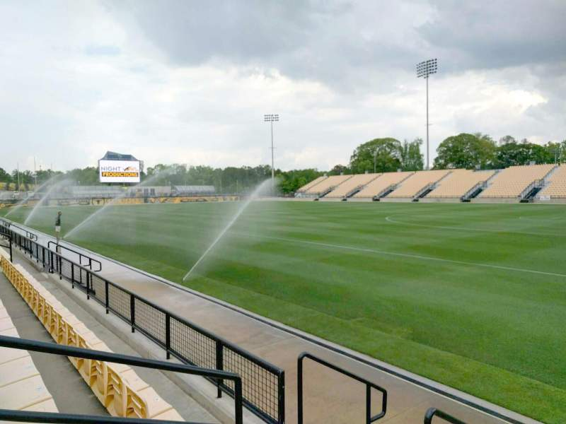 Seating view for Fifth Third Bank Stadium Section 111 Row c Seat 4