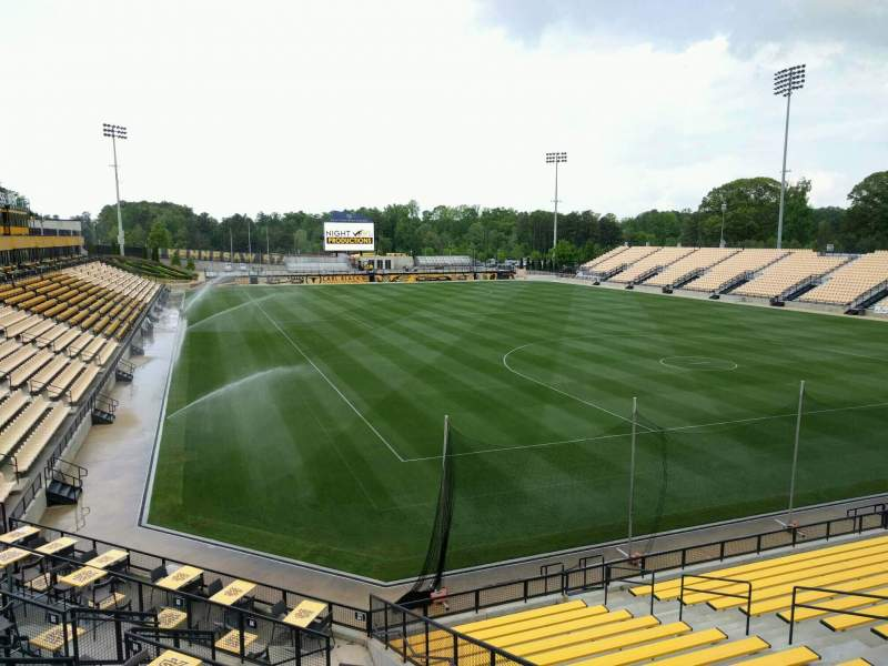 Seating view for Fifth Third Bank Stadium Section e10