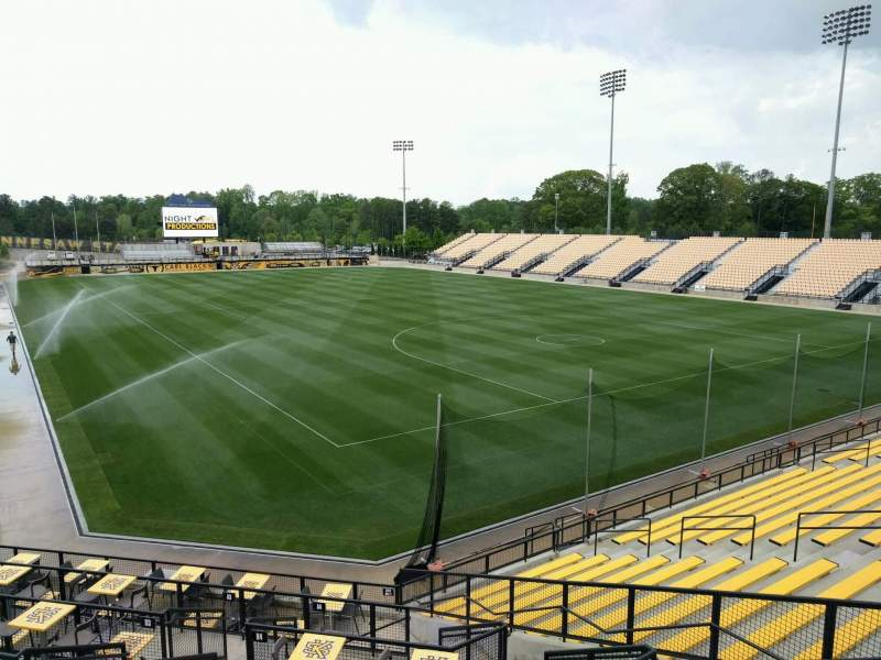 Seating view for Fifth Third Bank Stadium Section e8