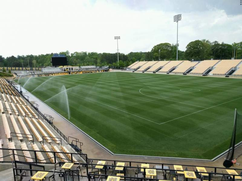 Seating view for Fifth Third Bank Stadium Section e4