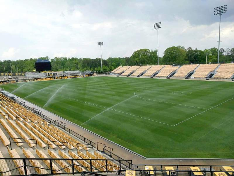 Seating view for Fifth Third Bank Stadium Section e2