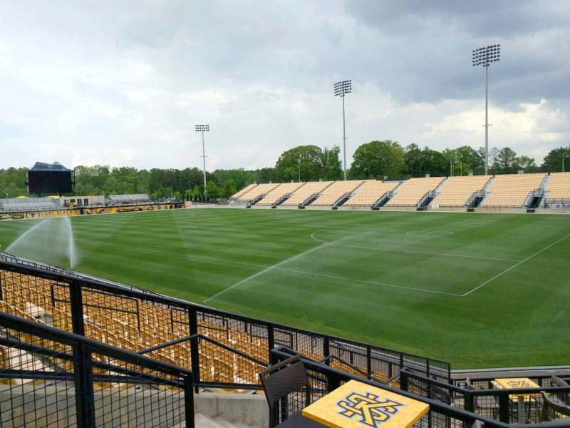 Seating view for Fifth Third Bank Stadium Section d2