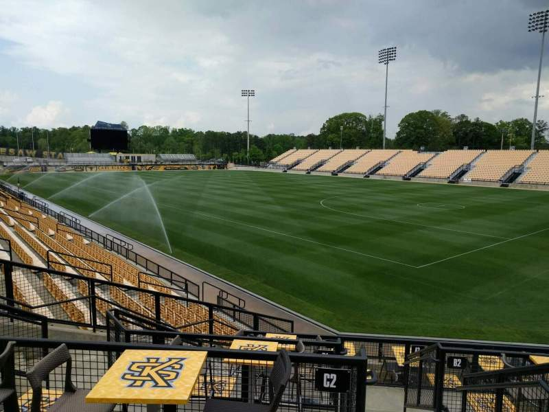Seating view for Fifth Third Bank Stadium Section d4