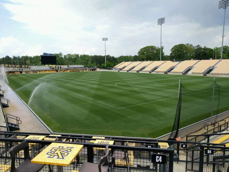 Seating view for Fifth Third Bank Stadium Section d6