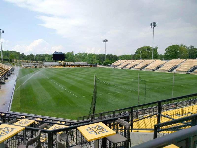 Seating view for Fifth Third Bank Stadium Section d10