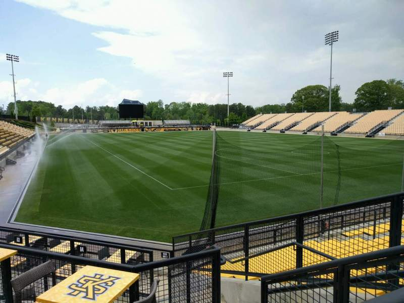 Seating view for Fifth Third Bank Stadium Section c6