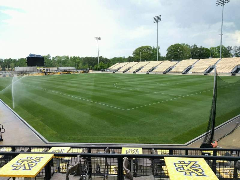 Seating view for Fifth Third Bank Stadium Section c4