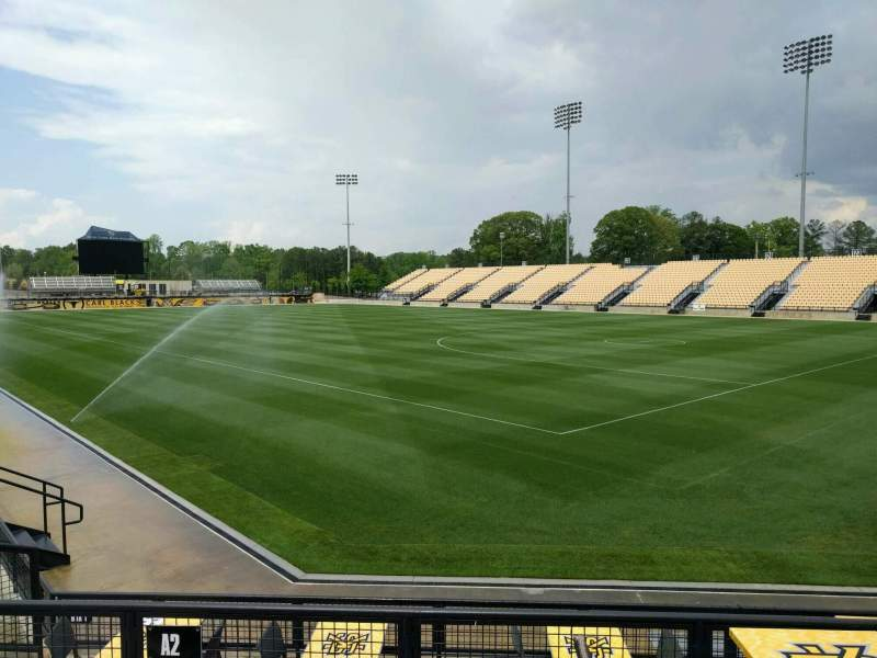 Seating view for Fifth Third Bank Stadium Section b2