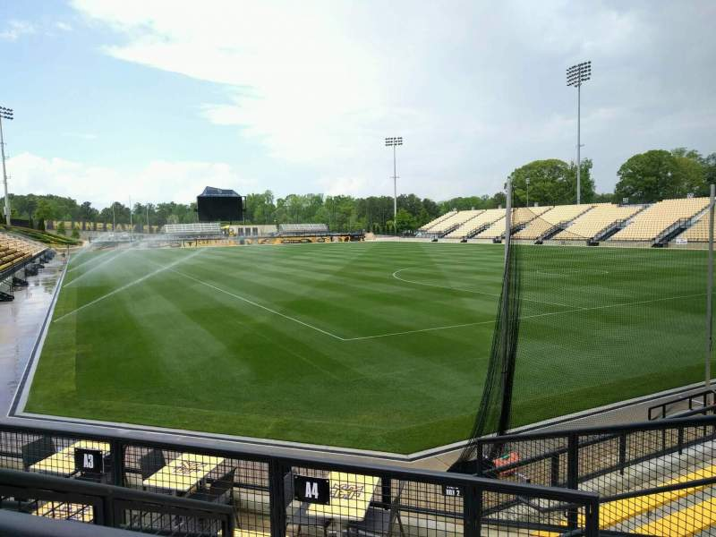 Seating view for Fifth Third Bank Stadium Section b4