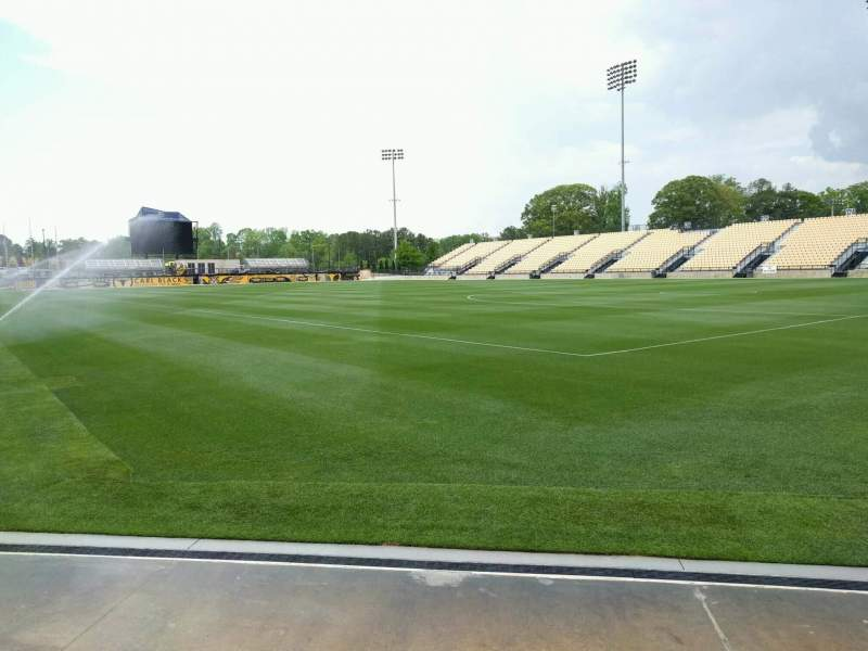 Seating view for Fifth Third Bank Stadium Section fb1