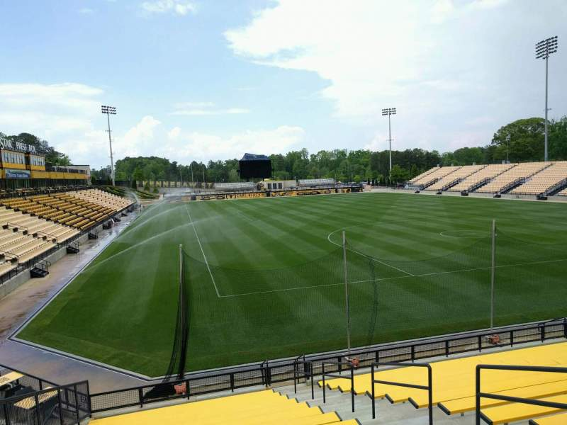 Seating view for Fifth Third Bank Stadium Section 113 Row ga