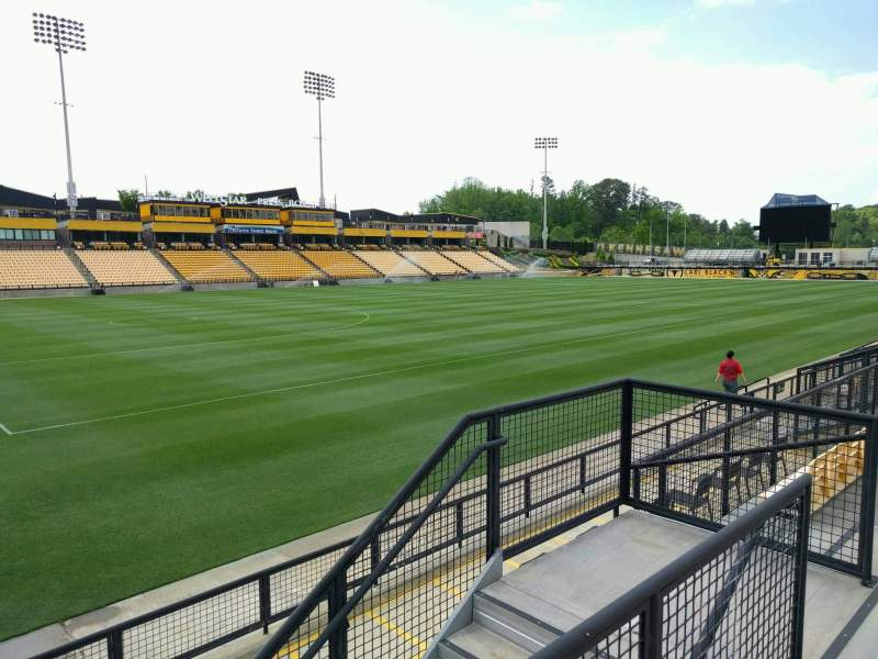 Seating view for Fifth Third Bank Stadium Section 121 Row g Seat 7