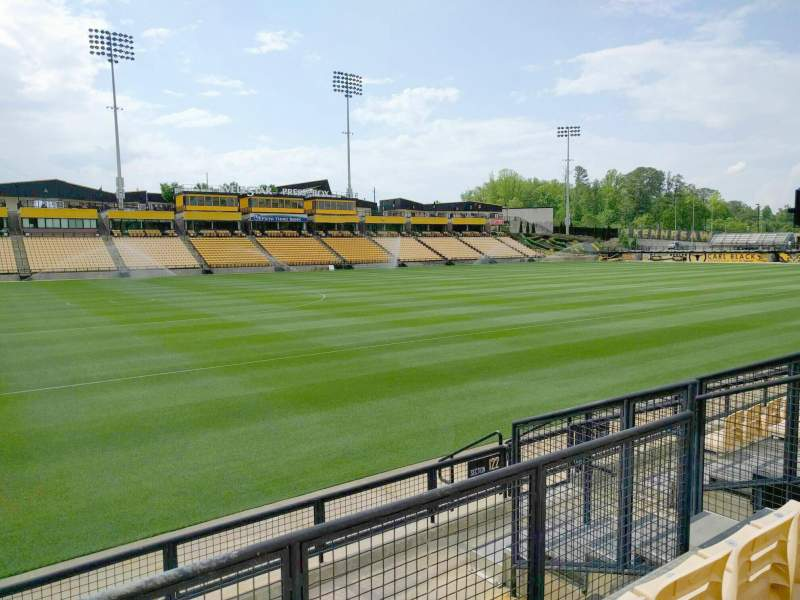 Seating view for Fifth Third Bank Stadium Section 122 Row f Seat 8