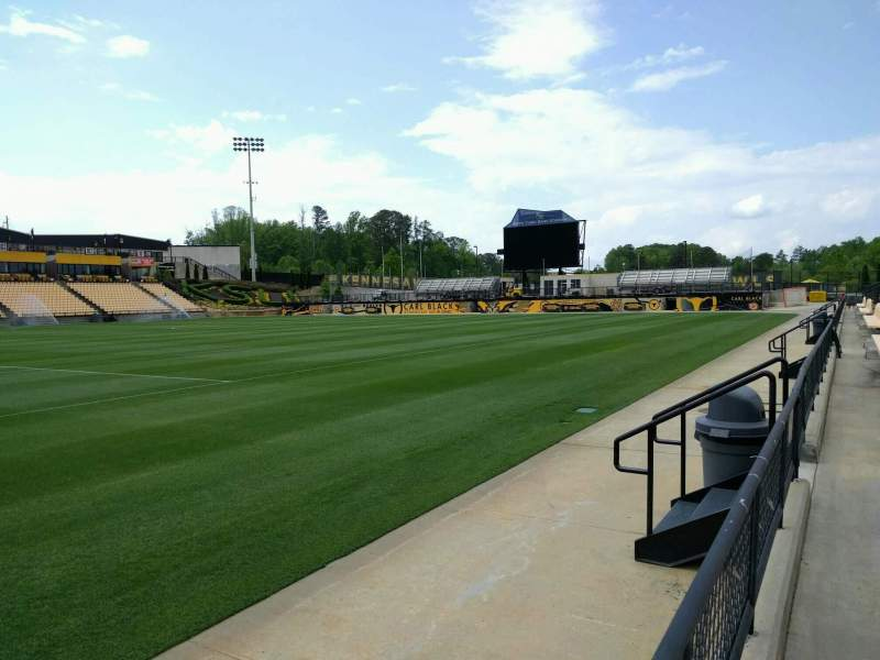 Seating view for Fifth Third Bank Stadium Section 125 Row a Seat 7