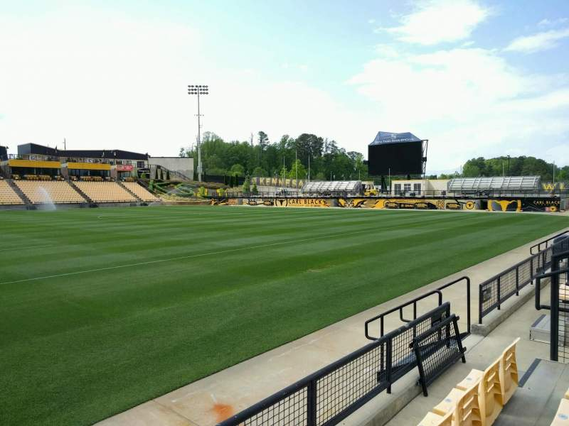 Seating view for Fifth Third Bank Stadium Section 126 Row c Seat 8