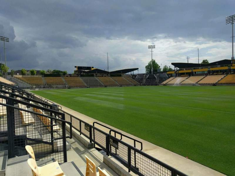 Seating view for Fifth Third Bank Stadium Section 129 Row c Seat 7