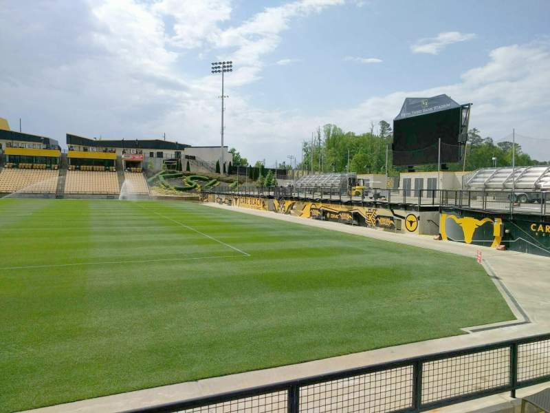 Seating view for Fifth Third Bank Stadium Section 130 Row d Seat 7