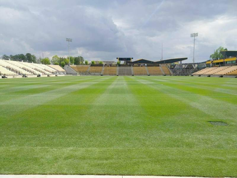 Seating view for Fifth Third Bank Stadium Section Field