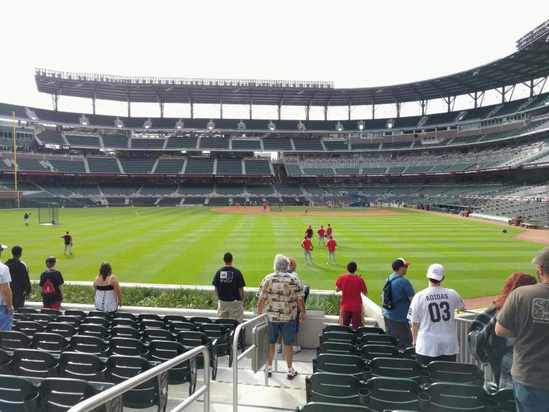 Seating view for Truist Park Section 146 Row 10 Seat 12