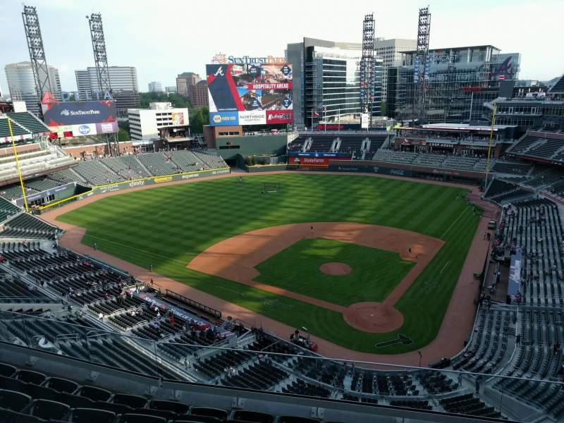Seating view for SunTrust Park Section 428 Row 6 Seat 6
