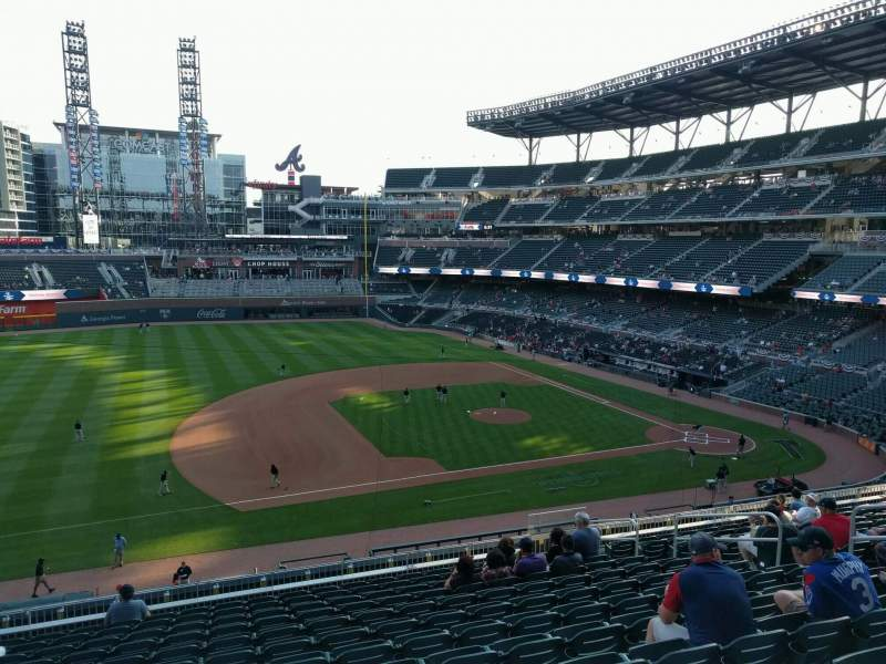 Seating view for Truist Park Section 235 Row 12 Seat 12