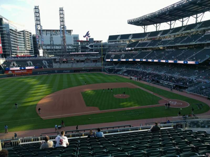 Seating view for Truist Park Section 233 Row 11 Seat 13