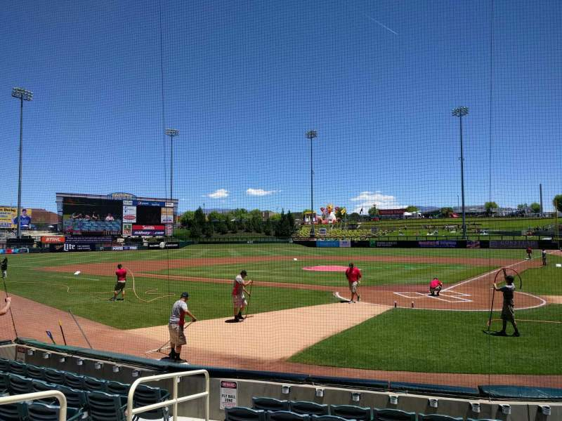 Isotopes Park, section 103, row h, seat 8 - Albuquerque ...