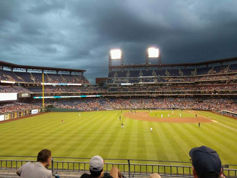 Seating view for Citizens Bank Park Section 243 Row 4 Seat 12
