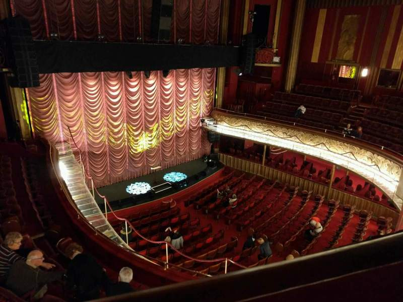 Seating view for Folies Bergere Section galerie Row a Seat 37