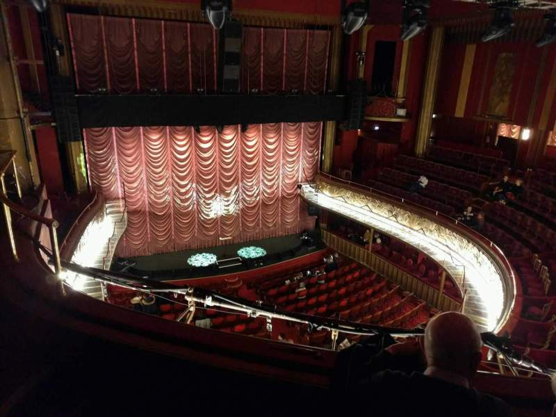 Seating view for Folies Bergere Section galerie Row d Seat 23