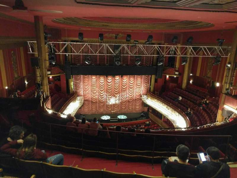 Seating view for Folies Bergère Section galerie Row j Seat 13