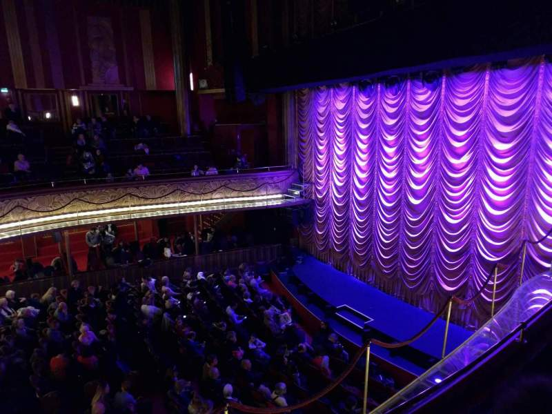 Seating view for Folies Bergère Section balcony Row o Seat 14