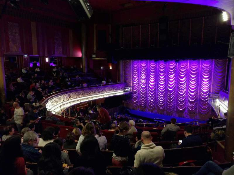 Seating view for Folies Bergère Section balcony Row g Seat 24
