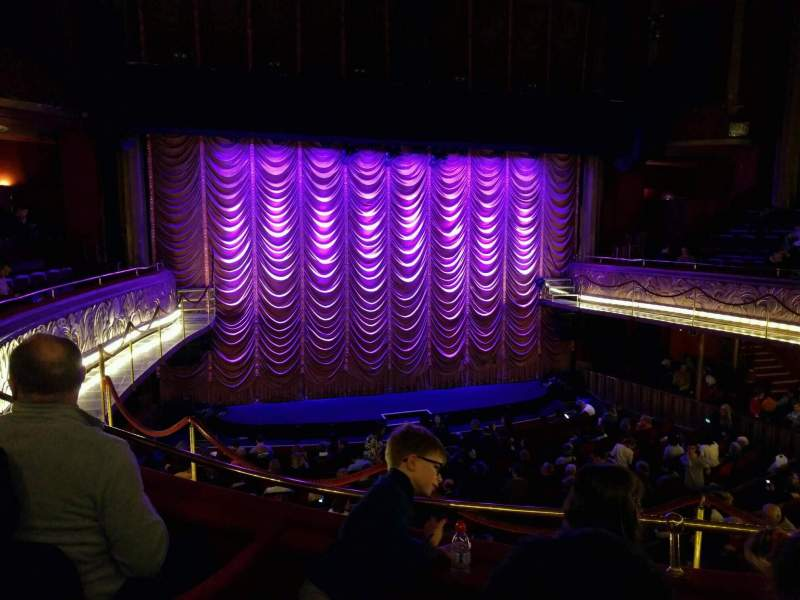 Seating view for Folies Bergère Section balcony Row a Seat 17